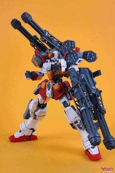 GUNDAM GUY: MG 1/100 Gundam Heavyarms - Customized Build