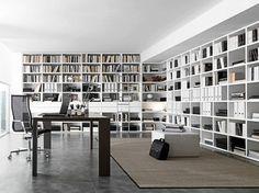 Libreria a giorno a parete componibile COMP 337 Collezione Pari