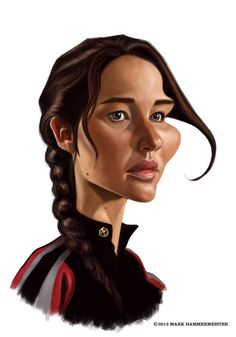 Jennifer Lawrence by ~markdraws on deviantART