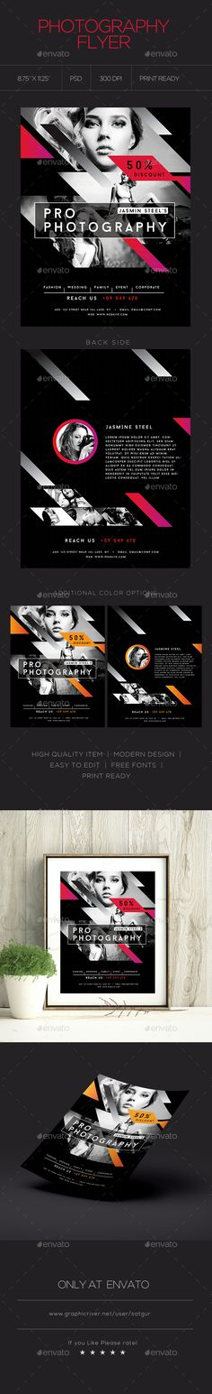 Photography Flyer  Magazine Ad  Photography Flyer Flyer