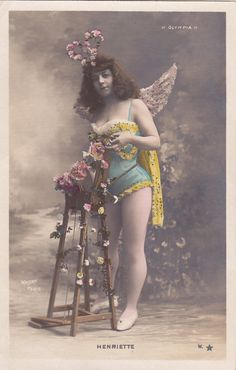 Pretty 'Henriette' Edwardian Stage Performer by by decorables, $14.00