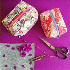 DIY: the 10-minute box zipper pouch | Craft Gawker | Bloglovin'