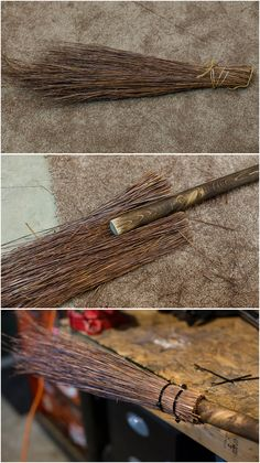 diy witchs broom but with lavender instead? Wiccan Decor, Wiccan Crafts, Pagan Altar, Witch Wand, Witch Broom, Witch Spell, Halloween Projects, Diy Halloween Decorations, Samhain Decorations