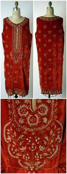 1925. French. Silk. metmuseum.org