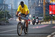 Jakarta bersepeda