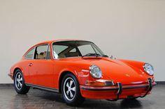 1971 Porsche 911S Coupe - Tangerine