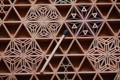 組子細工です。 - 建具、組子細工、デザイン建具、ステンドグラスと組子、伝統工芸、ウッドクラフト・ゴトウ