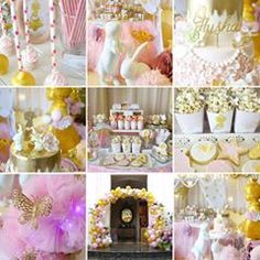 Flutters our heart in this very special blessings #prettyparty #pinkandgoldparty #party #firstbirthday