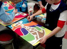 Aboriginal Art with Mrs. Seitz: 4th Grade