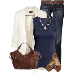 This is really classy, but a bit too warm for summers. Business casual at it's finest. The blazer is a nice classy touch and take the outfit up a notch. All Fashion, Passion For Fashion, Fashion Looks, Fashion Outfits, Womens Fashion, European Fashion, Fashion Styles, Mommy Style, Style Me