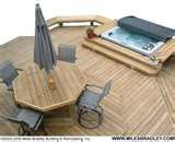 Image detail for -Hot tub deck by a Michigan deck builder located in Oakland County.