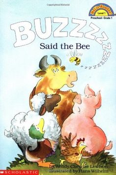 Buzz Said the Bee (Hello Reader, Level 1) by Wendy Cheyette Lewison. $3.99. Reading level: Ages 4 and up. Publication: March 1, 1992. Publisher: Cartwheel; 1 edition (March 1, 1992). Author: Wendy Cheyette Lewison