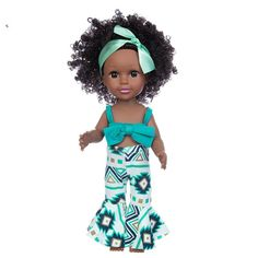 Child Doll, Girl Dolls, Baby Play, Baby Toys, Kids Girls, Cute Girls, 2017 Fall Fashion Trends, Doll With Hair, Black Baby Dolls
