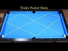 Tricky Pocket Shots - Trickshots Aiming Method Tutorial - Bilyaran - Pool & Billiard training lesson - YouTube