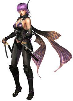 Ninja Gaiden 3 - Ayane, Nocturnal Butterfly (Sarah)
