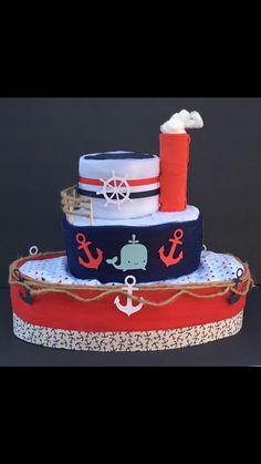 Nautical Baby shower baby shower centerpiece nautical