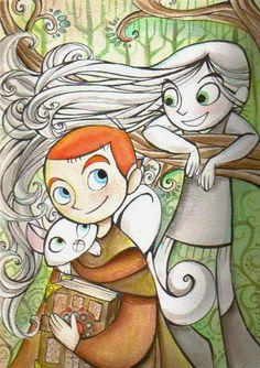 More cute Brendan and Aisling fan art. :)