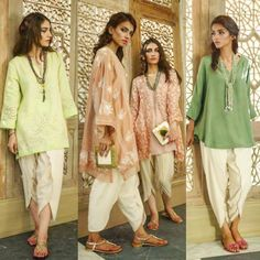 latest tulip pants trends The right professional look for South Asian women Pakistani Formal Dresses, Pakistani Outfits, Indian Outfits, Pakistani Couture, Pakistani Bridal, Indian Dresses, Indian Fashion Trends, Ethnic Fashion, Indian Look