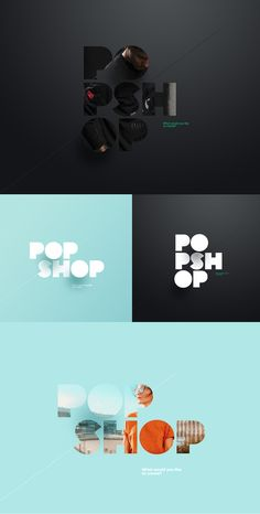 -The typography here is creative. The images and shadows creates depth. I can inc… The typography here is creative. The images and shadows creates depth. I can include some depth in the typography used in my design. Graphisches Design, Layout Design, Print Design, Design Typography, Typography Logo, P Logo, Font Logo, Graphic Design Branding, Logo Branding