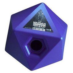 De Maximus voer en traktatie kubus is de manier om uw paard spelenderwijs te belonen of te voeren.