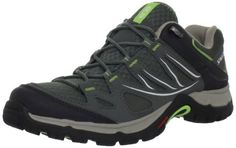 Salomon Womens Ellipse Aero W Hiking ShoeLight TitaniumTitaniumLizard Green8 M US *** You can find more details by visiting the image link.(This is an Amazon affiliate link)