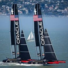 America's Cup 2013 San Francisco Bay, USA OracleTeamUSA boats