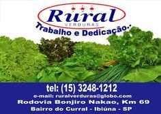 JORNAL AÇÃO POLICIAL PIEDADE E REGIÃO ONLINE: RURAL VERDURAS Trabalho e Dedicação Rod. Bunjiro Nakao, 69 Bairro do Curral - Ibiúna - SP e-mail: ruralverduras@globo.com tel: (15) 3248-1212
