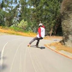 Screen grab from the @jorgepernes edit which is now live on the #lushblog. Visit www.lushlongboards.com to see his latest edit in full.  #lush #lushlongboards #burner #lushburner #skate #skateboard #freeride #dh #closedroad #14% #liveskatetravel #cuttingwoodsince99
