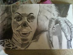 Penny Wise The Clown drawing.
