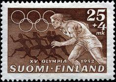 Finland 25mk+4mk Summer Olympics 1952                              …