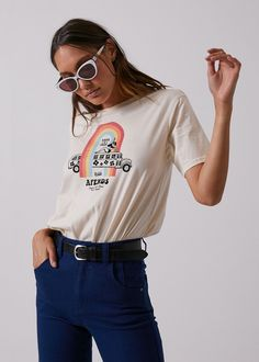 47e822b04856 Afends Womens Trippin - Fashion Fit Tee