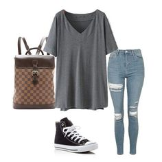 Basic casual summer outfit with grey plain t shirt and slim jeans. Most simple but most lovely style. Love it! Check them here.