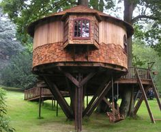 Hideaway Tree House, by Blue Forest. Surrey.