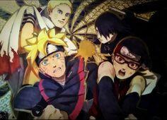 Boruto: Naruto the Movie Boruto And Sarada, Shikamaru, Sasuke Uchiha, Naruto Fan Art, Anime Naruto, Naruto New Generation, Yamanaka Inojin, Naruto Gaiden, Naruto The Movie