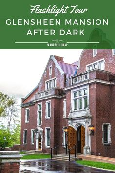 The Glensheen Mansion in Duluth, Minnesota, is fantastic to see during the day, but it becomes even more fascinating with only the light of a flashlight. Take the Flashlight Tour for a look at the mansion in a different light! via @wanderthemap