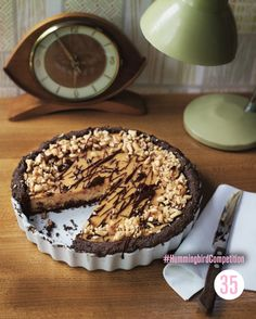Candy Bar Pie. Enter our #HummingbirdCompetition by March 6th, 2013 for a chance to win 1 of 3 free Home Sweet Home cookbooks. Rules and how to enter can be found here: https://www.facebook.com/notes/the-hummingbird-bakery/win-a-copy-of-home-sweet-home/567680519908799