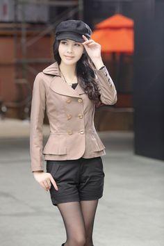 Elegant blazer, Layered jacket, layered blazer, Spring jacket, spring blazer, Blazer Jacket, jacket, blazer, YRB, 0336, Korean Style, Americ...