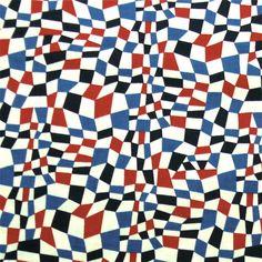 rust-neversleeps:    Blue and Red Geometric pattern