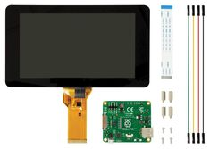 Official Raspberry Pi 7″ Touch Screen Display with 10 Finger Capacitive Touch – PiShop.us