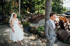 Destination Wedding: Serenity Cottage, Georgian Bay, ON (August 2019)• Natural Wedding Photos by Saidia Photography (www.saidia.ca) #ottawaweddingphotographer Summer Weddings, Georgian, Serenity, Destination Wedding, Wedding Photos, Cottage, Romantic, Wedding Dresses, Natural