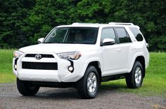 2014 White Four Runner