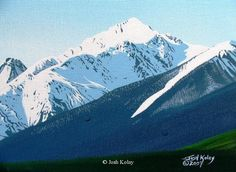 Original Mountain and Landscapes Paintings by Josh Kolay 19