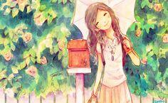 Anime Artwork HD Wallpaper