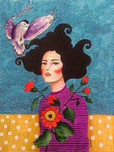 hülya özdemir — you are safe with me Art And Illustration, Illustrations, Painting Inspiration, Art Inspo, Arte Dope, Art Amour, Pop Art, Graffiti, Frida Art