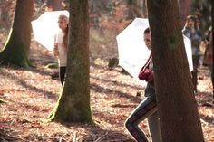 https://flic.kr/s/aHske2QLC8 | Traces | A woodland based dance performance at Alice Holt Forest based upon the traces people and the environment leave within a woodland.  Visual Artist:  Mary Branson Choreographer and Artistic Director:  Rachel Palmer Choreographers:  Hannah Batley and Nicky Norton