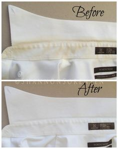 Peroxide is great in the laundry! Here's how to whiten yellow shirt stains: Mix together 1 tbsp Dawn dish washing liquid, 2 tbsp hydrogen peroxide, and 2 tsp baking soda. Apply the mixture to the yellow area and scrub gently. Leave sit for two hours and launder as usual.