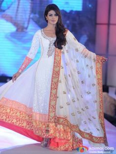 Priyanka Chopra in Manish Malhotra's anarkali suit