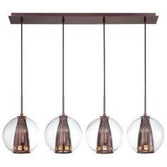George Kovacs KP1041631 Bling Bang Multi Light  Pendant Light - Chocolate Chrome
