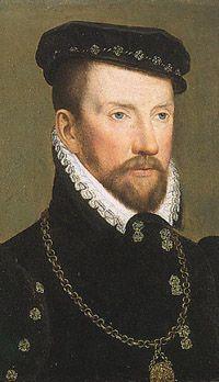 Admiral Gaspard de Coligny, the leader of the French Protestant Huguenots