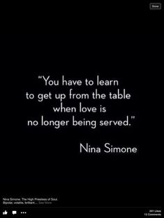 ❤️ When someone doesn't love or want you anymore it's time to move along.